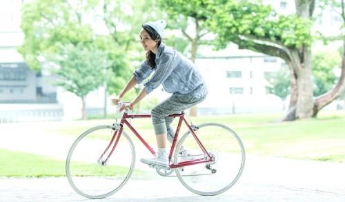 ... 自転車!FUJIのBALLAD   cyclee