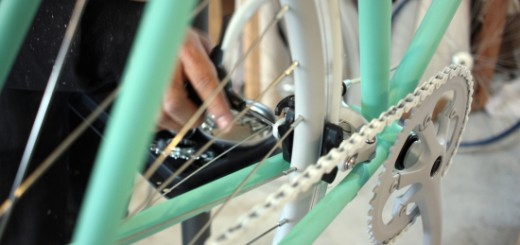 Cocci Pedaleの工場内